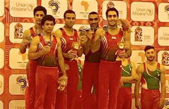 الجمباز يواصل التألق فى الألعاب الإفريقية رغم شدة المنافسة من الجزائر والمغرب