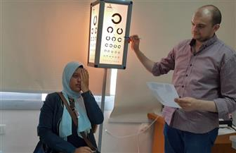 بدء الكشف الطبي على الطلبة المستجدين بعدد من كليات جامعة السادات | صور