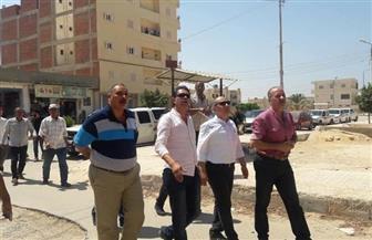 تطوير 4 مناطق بمدينة مرسى مطروح بالتعاون بين المحافظة وصندوق العشوائيات | صور