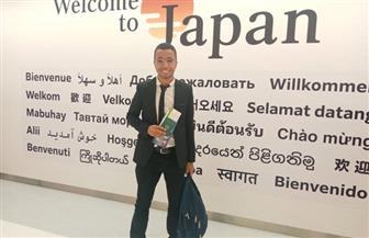 طالب بهندسة حلوان يحصل على منحة EJEP اليابانية | صور