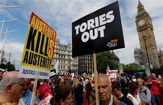 مظاهرات في بريطانيا احتجاجا على قرار جونسون تعليق عمل البرلمان