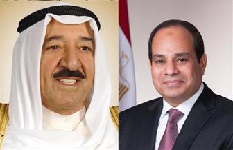 الرئيس السيسي يجري اتصالا هاتفيا بأمير الكويت للاطمئنان على صحته