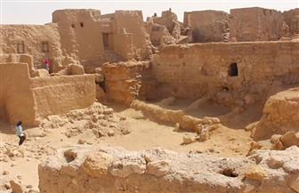 """""""الآثار"""" تنجز 70% من مشروع ترميم مدينة شالي الأثرية بواحة سيوة"""