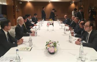 وزير الخارجية يبحث مع نظيره الياباني تعزيز العلاقات الثنائية وقضايا إقليمية ودولية   صور