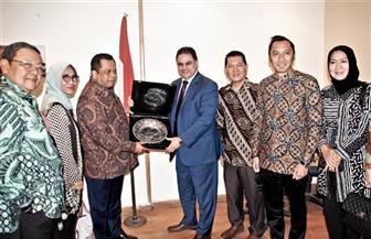هيئة تنشيط السياحة تستقبل وفدا إندونيسيا لبحث سبل التعاون بين البلدين
