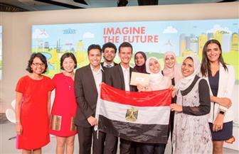 طلاب مصريون يفوزون بمسابقة عالمية بسنغافورة لإيجاد حلول ذكية في مواجهة تحديات المستقبل