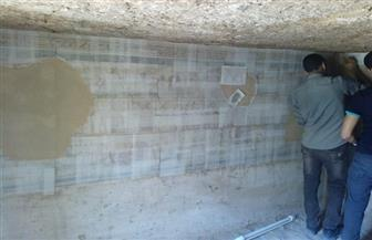وزارة الآثار تنتهي من أعمال فك جدران مقبرة توتو بمنطقة الديابات بمحافظة سوهاج | صور