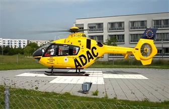 مروحية إنقاذ تعلق في خط كهرباء بألمانيا