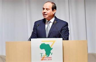 الرئيس السيسي: قمة التيكاد شكلت منصة كبيرة للحوار المباشر بين القطاعين العام والخاص
