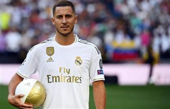 الأنباء السعيدة تتوالى على ريال مدريد.. هازارد يعود للتدريبات