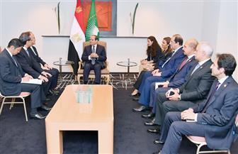 """الرئيس السيسي يستقبل رئيس """"ميتسوبيشي"""".. ويستعرض المشروعات التي تدرس الشركة تنفيذها في مصر"""