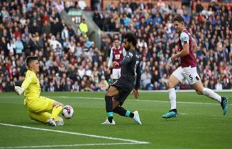 ليفربول يسجل الهدف الأول في شباك بيرنلي