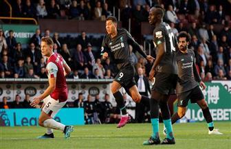 بثلاثية نظيفة.. ليفربول يفوز على بيرنلي ويتصدر الدوري الإنجليزي