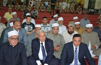 محافظ الدقهلية يشهد الاحتفال بالعام الهجري بمسجد النصر بالمنصورة | صور