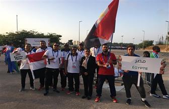 حفل مبسط لختام دورة الألعاب الإفريقية بالمغرب|صور