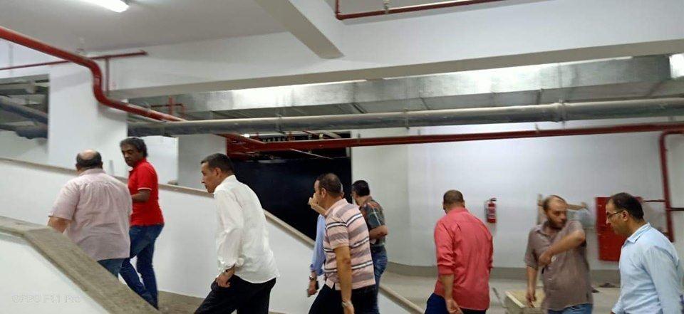 أحمد عواض يتفقد تجهيزات قصر ثقافة دمنهور