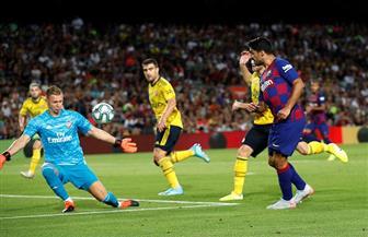 برشلونة يتوج بكأس خوان جامبر بعد الفوز على أرسنال بثنائية