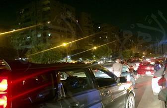 مصرع شخص وإصابة 4 آخرين في حادث تصادم بزهراء المعادي | صور