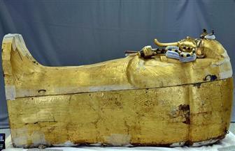 انطلاق أعمال ترميم التابوت الذهبي للملك توت عنخ آمون | صور