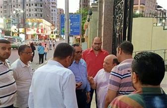 أحمد عواض يتفقد آخر التجهيزات قبل افتتاح قصر ثقافة دمنهور | صور