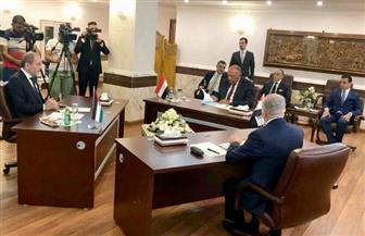 بدء أعمال الاجتماع الثُلاثي لوزراء خارجية مصر والأردن والعراق ببغداد
