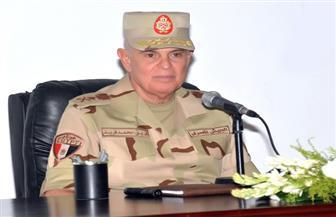 """رئيس الأركان يشهد المشروع التكتيكي """"فجر 3"""" بالمنطقة المركزية العسكرية"""