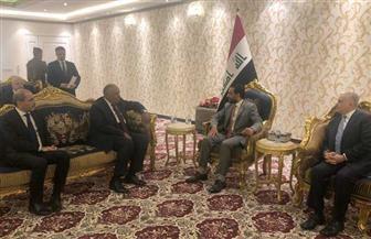 وزير الخارجية ونظيره الأردني يلتقيان رئيس الجمهورية العراقية ورئيسي الوزراء والبرلمان