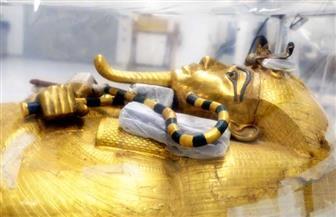 كل ما تريد معرفته عن التابوت المذهب الكبير للملك توت عنخ آمون | صور