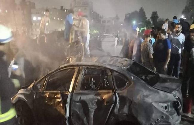 جامعة القاهرة: مرضى معهد الأورام والعاملين بخير.. والحريق خارج المبني -