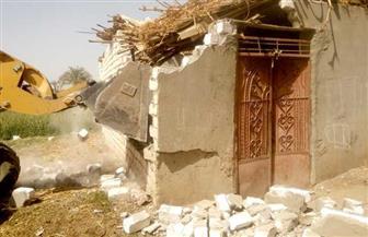 محافظ أسيوط: استرداد 590 مترا و680 فدانا في حملة إزالات بمركز أبنوب | صور