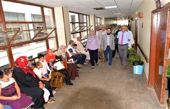 رئيس جامعة المنصورة يتفقد المراحل النهائية لتطوير وحدات مستشفى الأطفال | صور