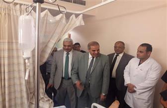 المحرصاوي يتفقد مستشفى جامعة الأزهر التخصصي ليلا |صور