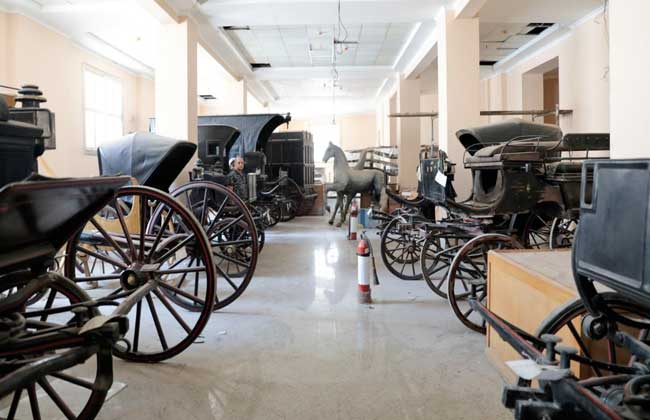 تمهيدا لافتتاحه في ديسمبر آخر مستجدات مشروع تطوير متحف المركبات الملكية ببولاق   صور