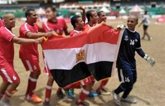 الفراعنة يحرزون الميدالية الذهبية في الأوليمبياد الخاص لكرة القدم بالهند