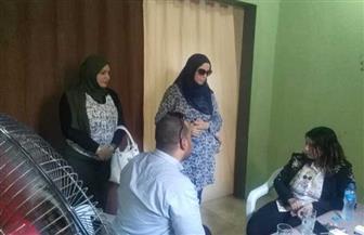 قافلة طبية لحزب المصريين الأحرار بالسويس للكشف بالمجان على أهالى قرية البطراوى | صور