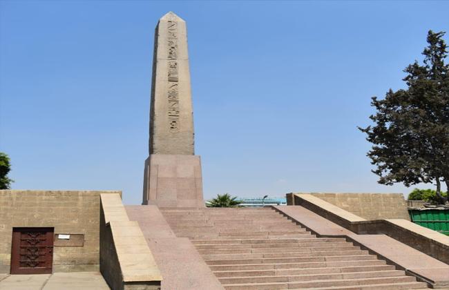 وصول مسلة الملك رمسيس الثاني إلي مدينة العلمين الجديدة بعد نقلها من الزمالك | صور - بوابة الأهرام