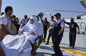 """سيارات إسعاف وطائرات هليكوبتر لنقل المرضى """"المنومين"""" إلى المشاعر المقدسة"""