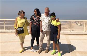 """""""الهجرة"""" تنسق زيارة إلى مدينة الجلالة للمواطن حسن سلامة صاحب واقعة الطائرة الرومانية"""