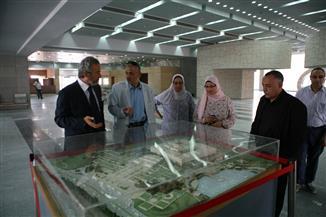 تعيين أحمد الشربيني مشرفا عاما لمشروع المتحف القومي للحضارة | صور