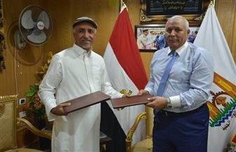 بروتوكول تعاون مع كبرى شركات الاستثمار الزراعي الإماراتي بالوادي الجديد
