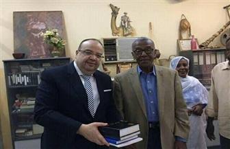 السفير المصري في الخرطوم يزور جامعة أم درمان الأهلية |صور