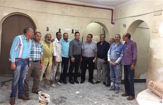 جامعة عين شمس تستعد لبدء الدراسة بأعمال الصيانة | صور
