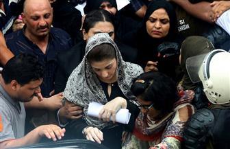 مريم نواز شريف تمثل أمام القضاء الباكستانى لاتهامها بالفساد | صور
