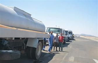 توفير 500 طن يوميا من المياه خلال احتفالات مولد الشيخ الشاذلي بمرسى علم| صور
