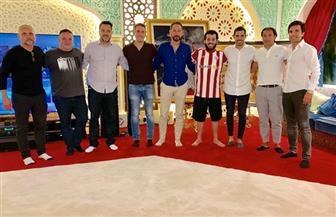 تركي آل الشيخ يعرب عن سعادته بلقاء ألمع مدربي وعقول كرة القدم   صور