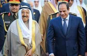 الرئيس السيسي يغادر الكويت بعد زيارة رسمية