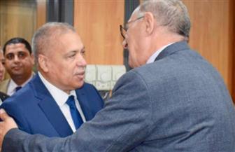 رئيس النيابة الإدارية يزور رئيس قضايا الدولة لتهنئته بتوليه مهام منصبه