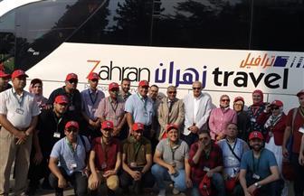 """انطلاق قافلة جامعة المنصورة الطبية والبيطرية والزراعية المتكاملة """"جسور الخير 5"""" لجنوب سيناء"""