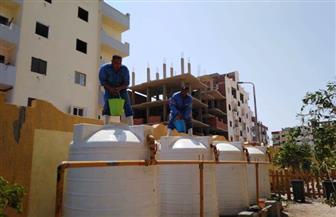 مياه البحر الأحمر تطلق مبادرة لتطهير خزانات المدارس استعدادا للعام الدراسي الجديد | صور