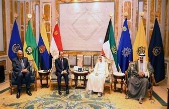 تفاصيل لقاء الرئيس السيسي مع الشيخ صباح الأحمد الجابر الصباح أمير الكويت